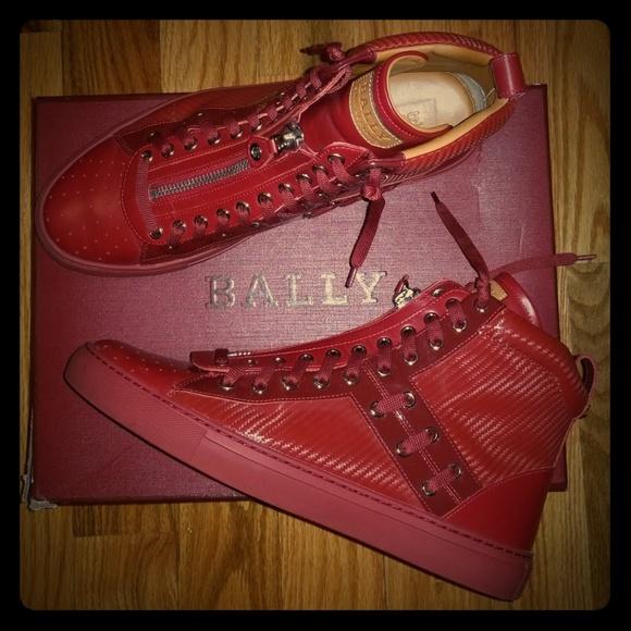 Bally Hekem Leather Hightop Sneaker